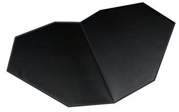 Deluxe Upholstered Folding Service Tops