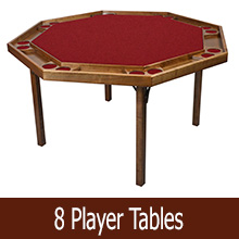 8 player tables