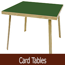 card tables