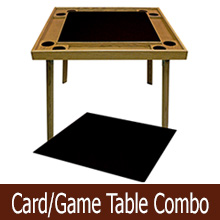 game/card table combinations
