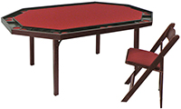 #872 Deluxe Folding Game Table