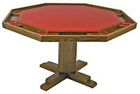 #86 & 98 Pedestal-Base Poker Table