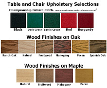 upholstery color samples