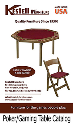 Kestell Gaming Table Catalog
